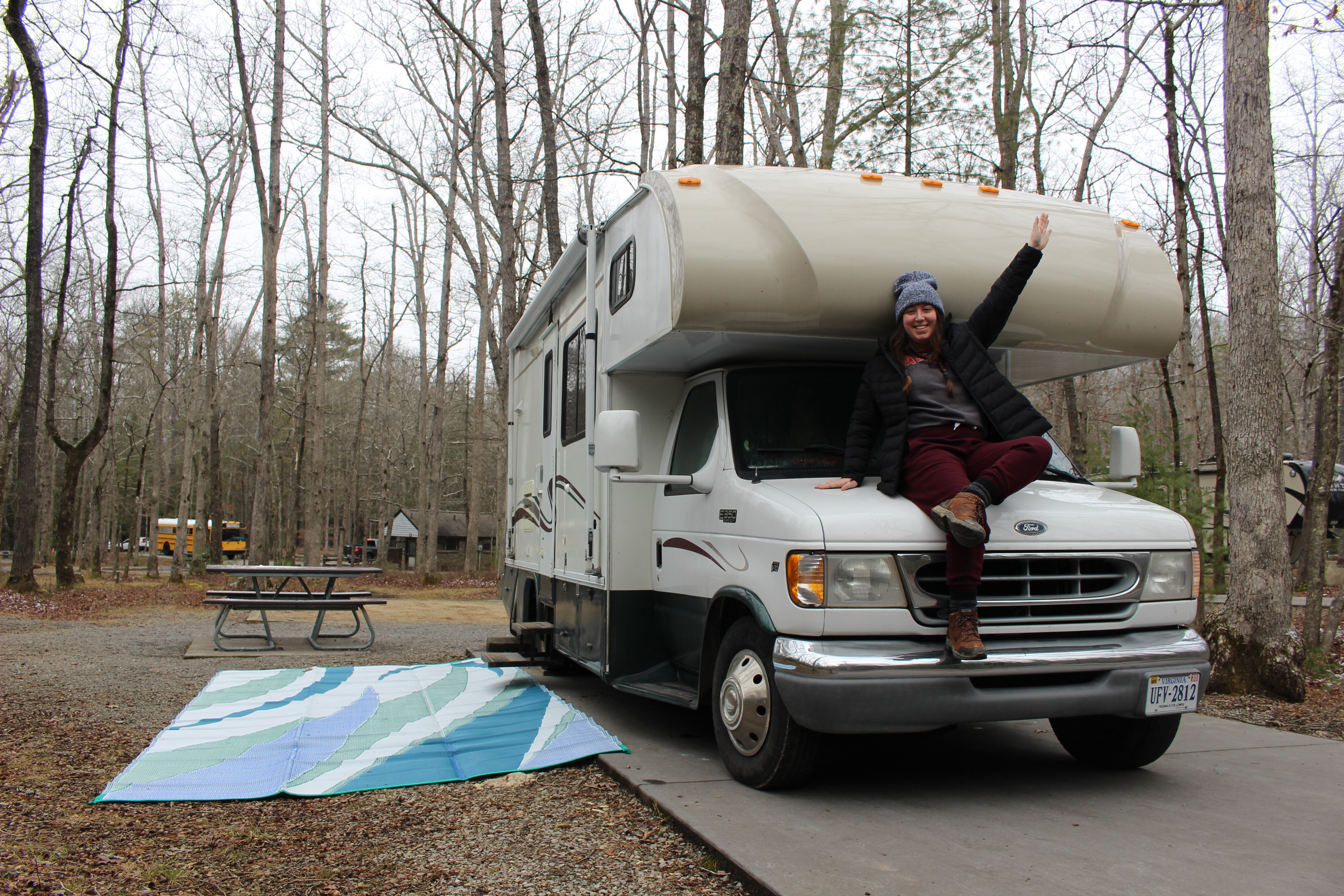 Freedom from rent with my RV
